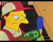 HomerTipsTheDeliveryManOneDollar