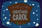 Mr. mcgrew's christmas carol