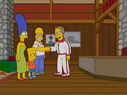 Bart goes to Serenity Ranch fat camp