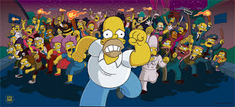 File:The Simpsons Movie Homer Simpson being chased by Angry Mob.png