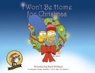 I Won't Be Home for Christmas main promo