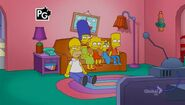 Lisa Goes Gaga (Couch Gag) 1