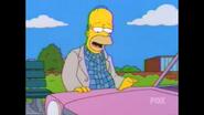 Homer and the Sedan