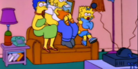 Swapped Around Places couch gag