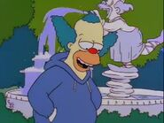Krustys mansion fountain-bart the fink