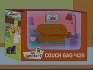 Lisa the Drama Queen (Couch Gag) 1