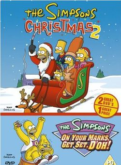 File:The Simpsons - Christmas 2 & On Your Marks, Get Set, D'oh!.jpg