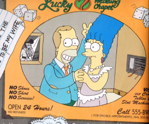 File:Homer's and Marge's Wedding.png