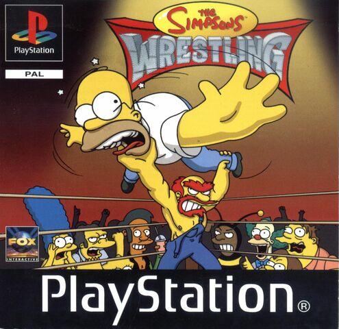 File:The Simpsons Pro Wrestling Pal.jpg