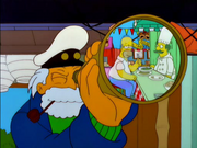 Homer - Guess who's coming to critisize dinner?