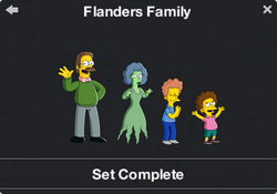 Flanders Family Character Collection