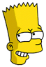 Bart Sneaky Icon
