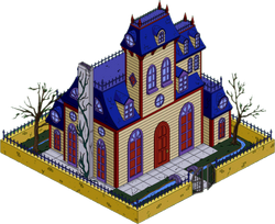 Bad Dream House Menu