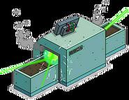 Unlocked Prize Screen X-Ray Machine