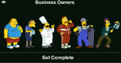 Business Owners Character Collection