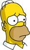 Homer Sad Icon