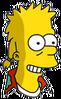 Mooch Bart Happy Icon