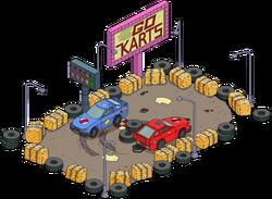 Go-Kart Track Menu