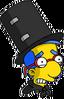 Magic Act Milhouse Scared Icon