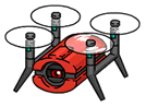 Drone Scan Icon