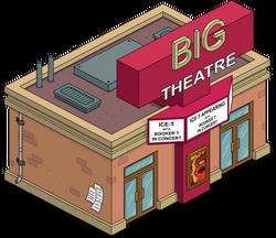 Big T Theatre Menu
