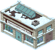 Abercrombie & Rich Flipped Snow Menu