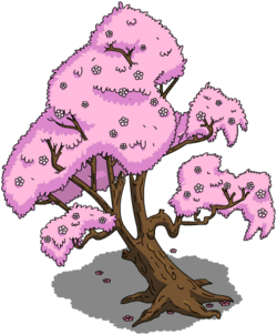 Japanese Cherry Tree Menu
