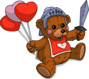 Sir Love-A-Lot Menu