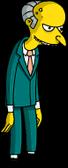 Mr. Burns Menu