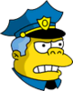 Wiggum Angry Icon