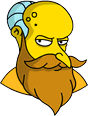 File:New God Mr. Burns Annoyed Icon.png