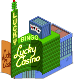 Lucky Casino Menu