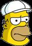 King-Size Homer Annoyed Icon