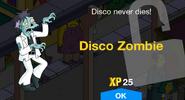 Disco Zombie Unlock Screen