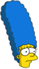 Muscular Marge Sad Icon