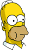 Homer Mouthfull Icon