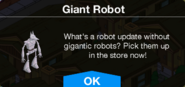 Giant Robot message