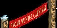 Pagan Winter Carnival Sign