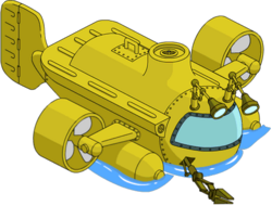 Yellow Submersible Menu