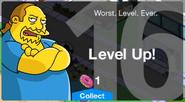 Level 16 Message