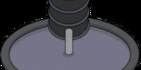Hi-Glow Waste Barrels