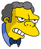 Moe Angry Icon