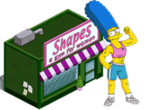 Muscular Marge + Shapes Store Icon