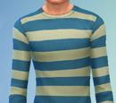 YmTop SweaterCrewBasicStripes