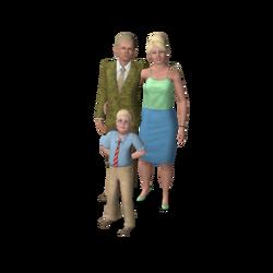 Landgraab Family (The Sims 3)