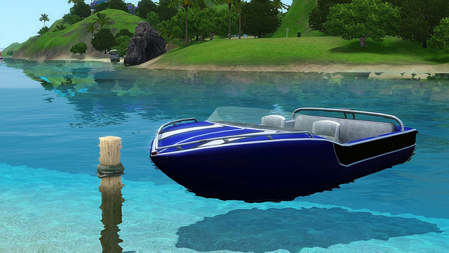 File:Speedboat by Public Domains.jpg