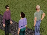 Will Wright meeting the Newbies