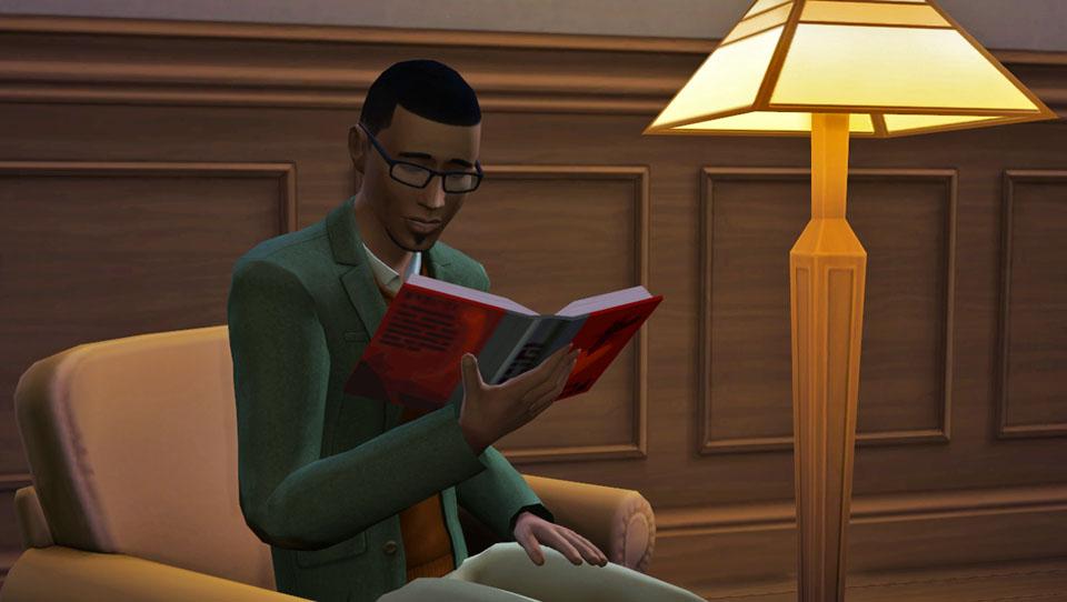 Image - Gavin-reading-book-sims-4.jpg   The Sims Wiki   Fandom ...