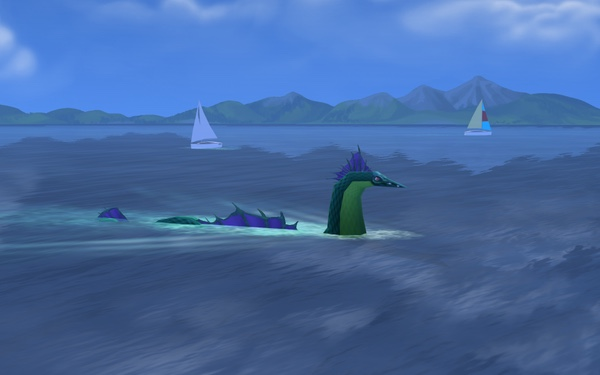 TS4GT sea monster