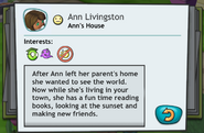 Ann Livingston MySims